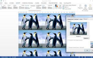 Рисунки для ворда: как отредактировать изображение и сделать фоновый рисунок